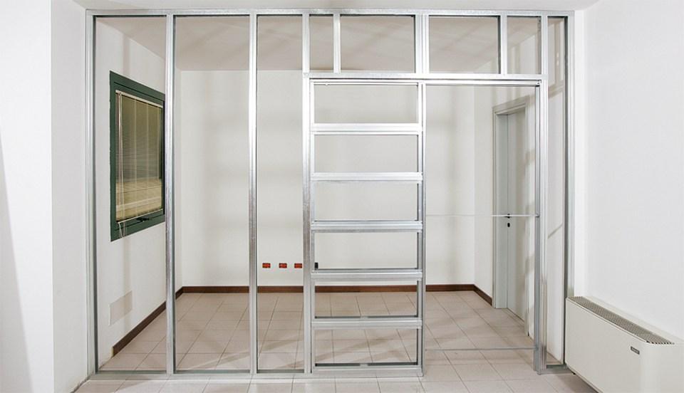 Eclisse controtelai per cartongesso sannino rappresentanze edili - Porta su parete cartongesso ...