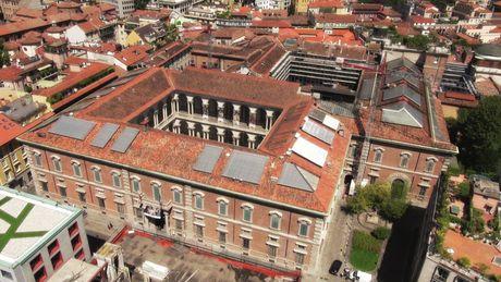 Con Onduline ristrutturata la copertura della Pinacoteca di Brera